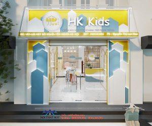 Thiết kế shop quần áo trẻ em HK Kids – chị Hương