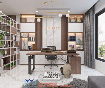 Thiết kế nội thất công ty thời trang 70m2