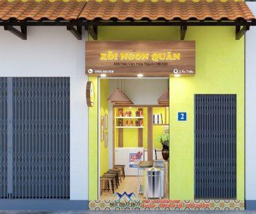 Thiết kế cửa hàng xôi ngon 10m2 tại Hoàn Kiếm