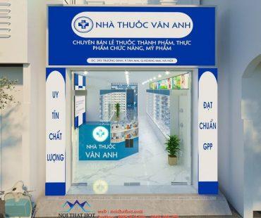 Thiết kế nhà thuốc tân dược Vân Anh theo chuẩn GPP