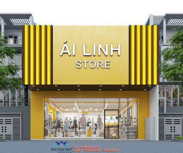 Thiết kế nội thất shop thời trang Ái Linh