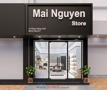 Shop giày dép túi xách Mai Nguyễn trẻ trung, hiện đại
