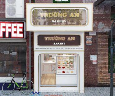 Cửa hàng bánh ngọt Trường An diện tích nhỏ