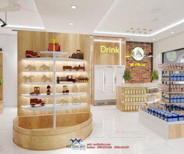 Thiết kế shop tạp hóa nhập khẩu An Chi